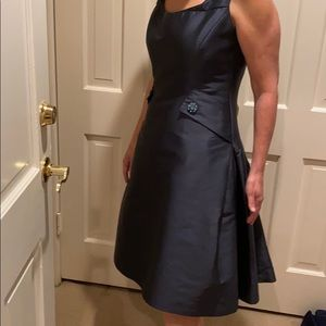 CAROLINA HERRERA COUTURE SILK &POLY AMAZING DRESS